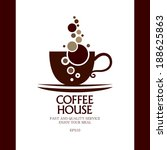 coffee house. | Shutterstock .eps vector #188625863