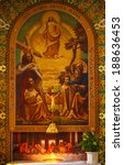 minsk   apr 5  interior of... | Shutterstock . vector #188636453