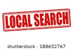 local search grunge rubber... | Shutterstock .eps vector #188652767