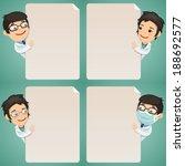 doctors cartoon characters... | Shutterstock .eps vector #188692577