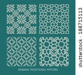 traditional arabian pattern.