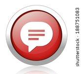speech bubble icons