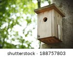 Bird House Hanging From The...