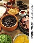 feijoada  a stew of beans with... | Shutterstock . vector #188810357