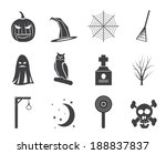 silhouette halloween icon pack  ...