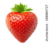 red berry strawberry isolated... | Shutterstock . vector #188884727