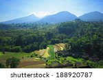 rice terrace bali island... | Shutterstock . vector #188920787