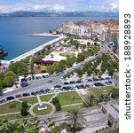 aerial view of a square and a... | Shutterstock . vector #188928893