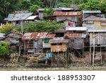 Shanty Wooden Homes In Kalikud...