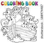 animal,ark,art,artwork,bird,boat,book,coloring,colouring,elephant,eps10,float,giraffe,hippo,hippopotamus
