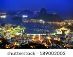sugarloaf is the symbol of rio... | Shutterstock . vector #189002003