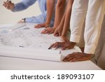 close up mid section of... | Shutterstock . vector #189093107