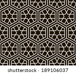 seamless pattern. ancient... | Shutterstock .eps vector #189106037