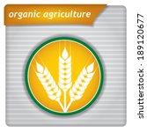 presentation template   organic ... | Shutterstock .eps vector #189120677
