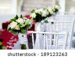 wedding chair | Shutterstock . vector #189123263
