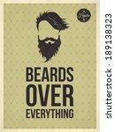 beards over everything  ...   Shutterstock .eps vector #189138323