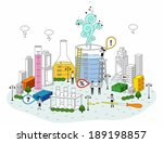smart life and science | Shutterstock . vector #189198857