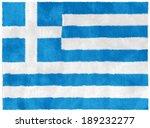flag of greece   Shutterstock . vector #189232277