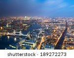 Aerial View Of London Towards...