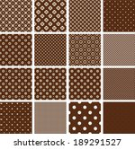 Set Of 16 Seamless Patterns In...
