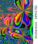 Fractal Image Depicting...