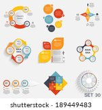 collection of infographic... | Shutterstock .eps vector #189449483