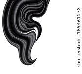 hanging wavy plume of brunette... | Shutterstock .eps vector #189461573
