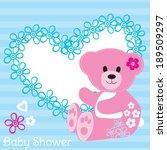 cute teddy bear baby shower...
