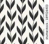 seamless pattern. floral... | Shutterstock .eps vector #189526403