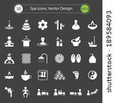 spa icons.vector design | Shutterstock .eps vector #189584093
