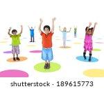 group of children | Shutterstock . vector #189615773