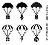 element,icons,illustration,parachute,symbol,vector,web