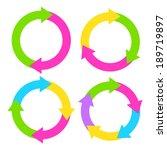 process diagram illustrations | Shutterstock .eps vector #189719897