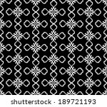 decorative seamless vector... | Shutterstock .eps vector #189721193