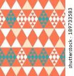 Abstract Retro Pattern. Vector...