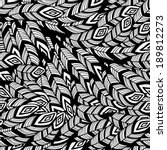 vector seamless pattern with... | Shutterstock .eps vector #189812273