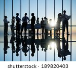 group of business people meeting | Shutterstock . vector #189820403
