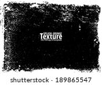 grunge texture. vector template | Shutterstock .eps vector #189865547