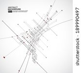 abstract background vector | Shutterstock .eps vector #189990497