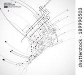 abstract background vector | Shutterstock .eps vector #189990503