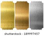 aluminum  bronze and brass... | Shutterstock . vector #189997457