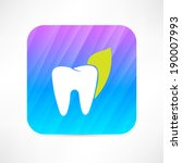 tooth icon | Shutterstock .eps vector #190007993
