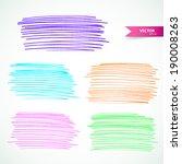 markers set | Shutterstock . vector #190008263