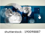 abstract global infinity... | Shutterstock .eps vector #190098887