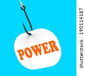 power on hook showing super... | Shutterstock . vector #190114187