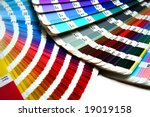 color guide to match colors for ... | Shutterstock . vector #19019158