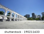 landmark white arches of arcos...   Shutterstock . vector #190211633