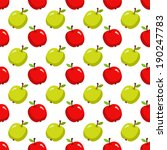 seamless pattern with cartoon... | Shutterstock .eps vector #190247783