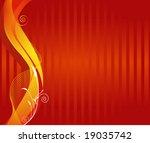 an abstract autumn background   Shutterstock .eps vector #19035742