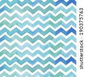 chevron background. watercolor... | Shutterstock . vector #190375763